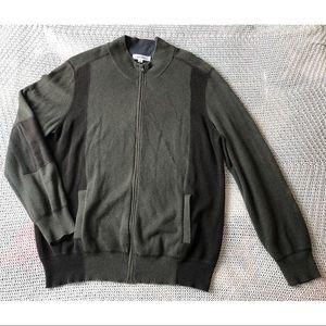 Calvin Klein zip up sweater men's sz XL
